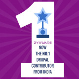 No 1 Drupal Contributor from India