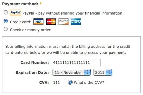 fake credit card number and cvv | Cardonline co