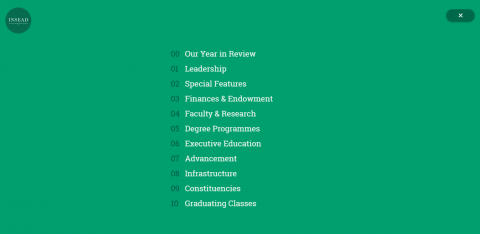 INSEAD Annual Report Launched